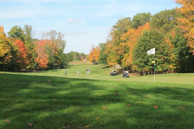 A view of the 6th hole at Wedgewood Golf & Country Club