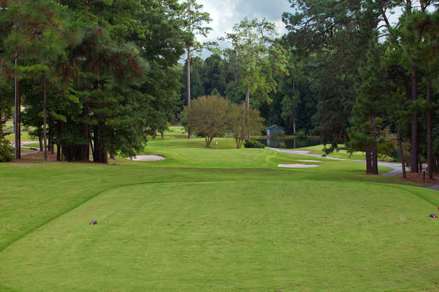 A view from the 2nd tee at Camden Country Club