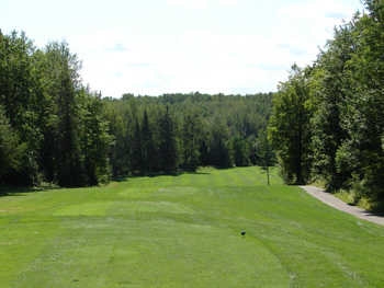 A view of the 2nd green at NorthWood Golf Course