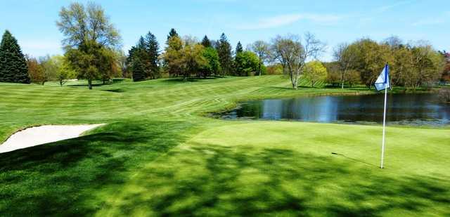 A view of a green at Congress Lake Club