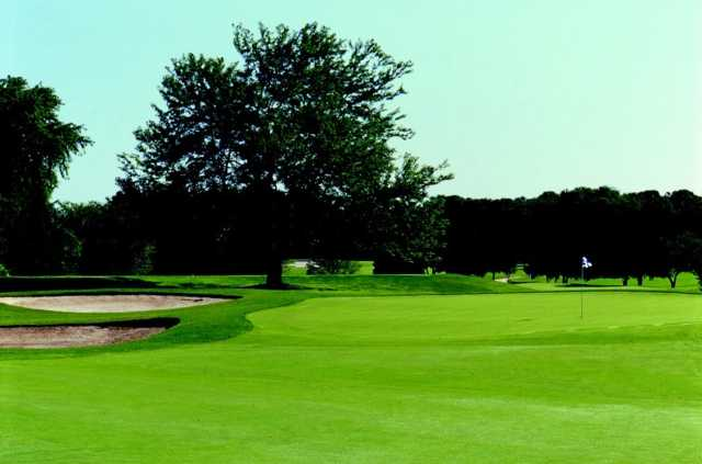 View of a green at Wedgewood Golf Course