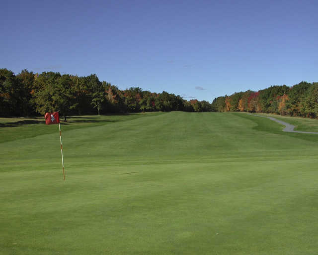 Looking back from the 4th hole at Pocono Manor Inn & Golf Resort East Course