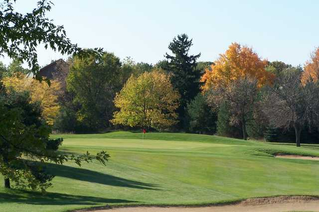 Fall view of the 10th hole at Edgewood Golf Course