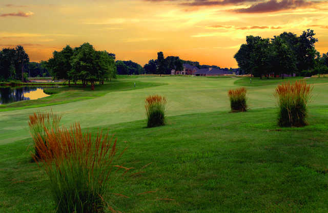Sunset view from Far Oaks Golf Club