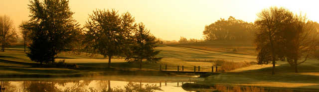 A beautiful view from the Timber Creek Golf Course