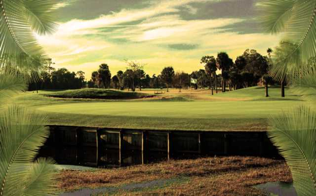 A view of a hole at Rocky Point Golf Course