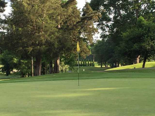 A view of hole #2 at Monroe Country Club