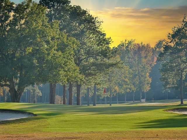 A view of a hole at Moree's Cheraw Country Club
