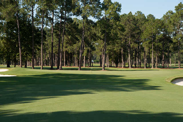 A view of green #10 at Timuquana Country Club