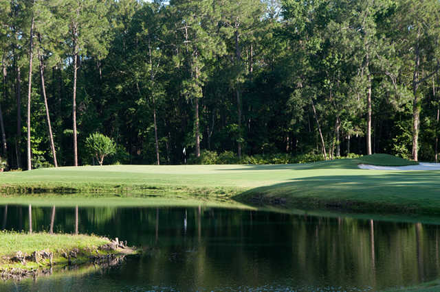 A view of the 10th hole at Timuquana Country Club