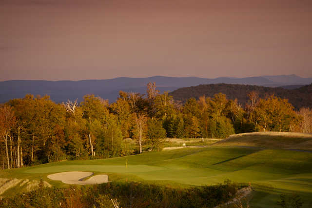 View from Jay Peak GC