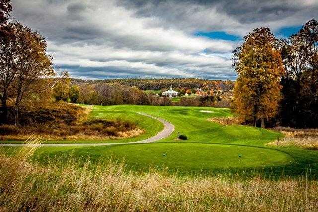 View from a tee at Little Bennett Golf Course
