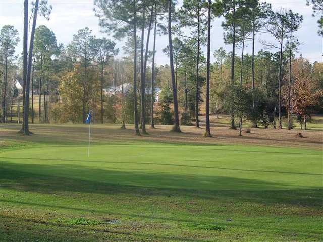 A view of a green at Dogwood Hills Golf Club