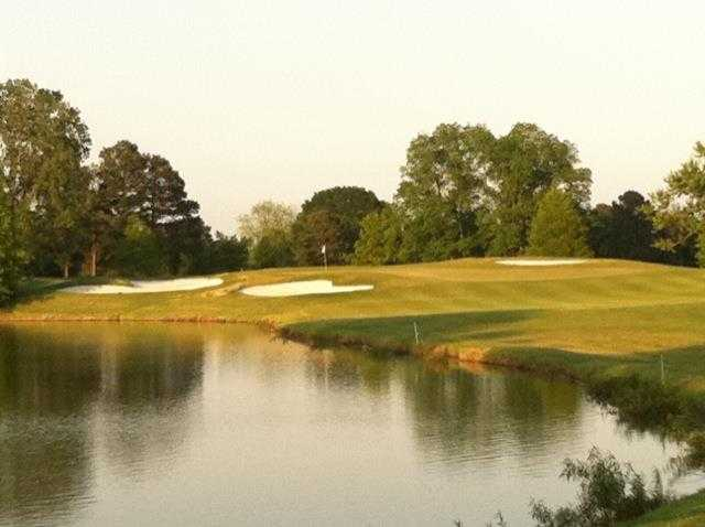 View of the 8th hole at Glen Eagle Golf Course