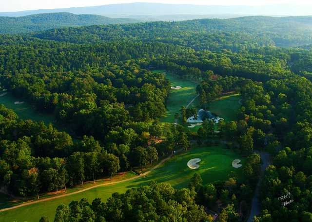 Aerial view from DeSoto Golf Course