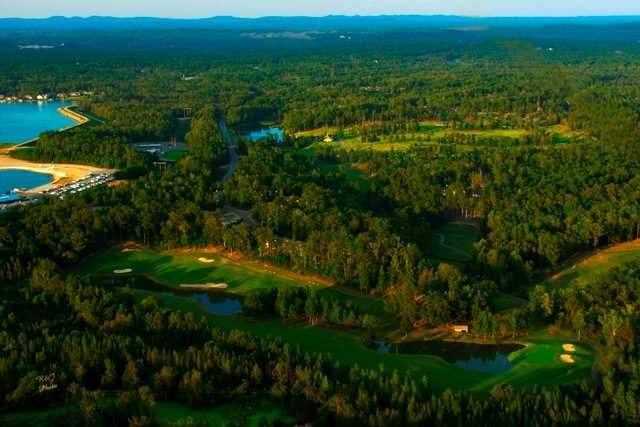 Aerial view from Magellan Golf Course