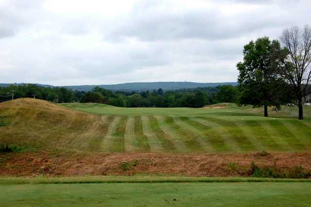 A view from tee #2 at Gillette Ridge