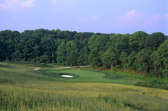 View of a green at Laurel Hill Golf Club