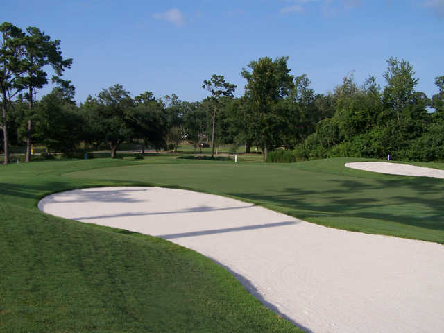 A view of the 13th hole at Diamondhead Country Club - Cardinal Course