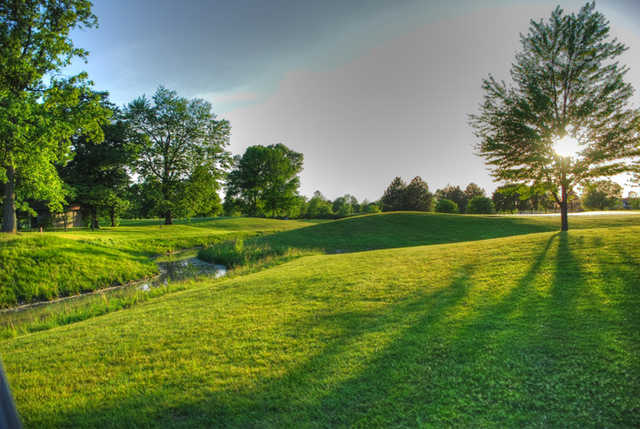 A view from Saginaw Valley Golf Course.