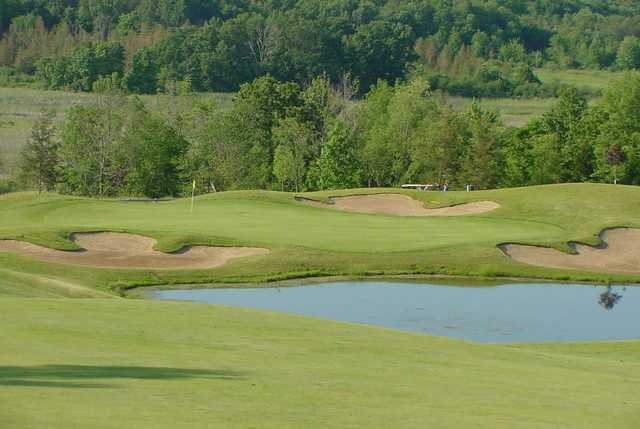 View of the 5th hole at Coyote Preserve Golf Club