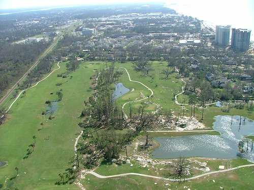Aerial view from Great Southern Golf Club