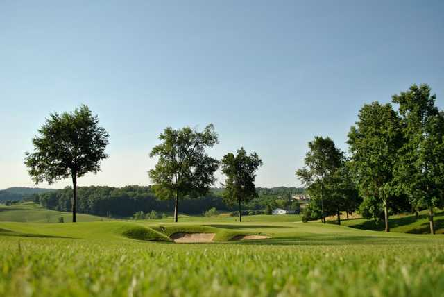 A view of a green from Blackthorn Club at The Ridges