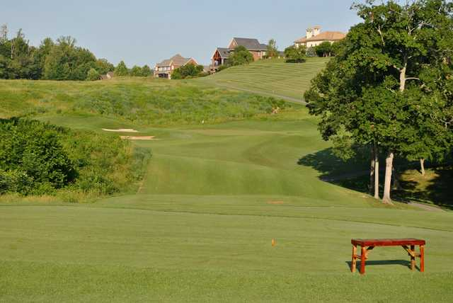 A view from a tee at Blackthorn Club from The Ridges