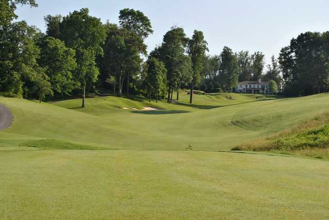 A view from a fairway at Blackthorn Club from The Ridges