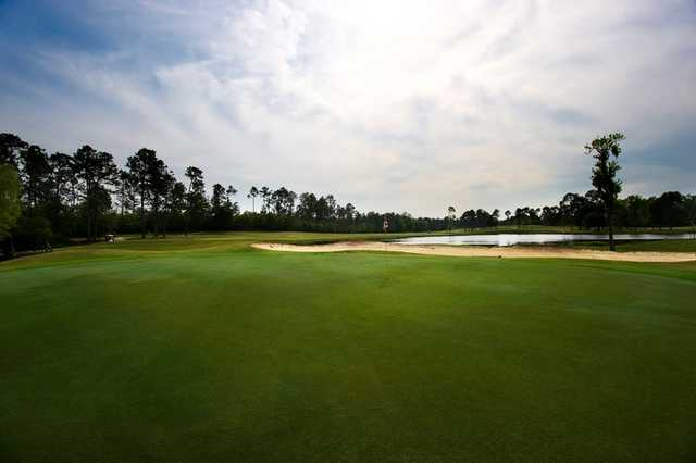 A view of the 6th green at Windance Country Club