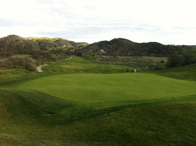 A view of a hole at CrossCreek Golf Club