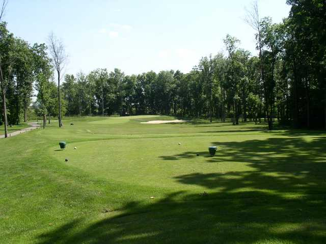 A view from the 16th tee at Legacy Golf Club