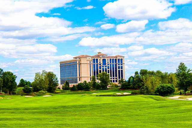A splendid view from Belterra Casino Golf Club