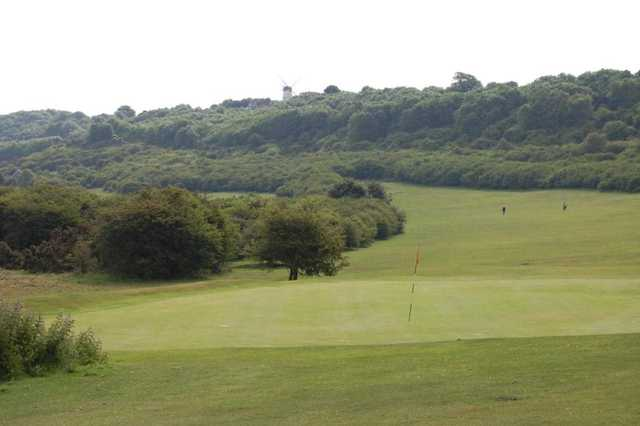View from Waterhall Golf Course
