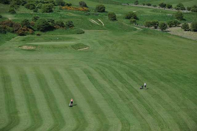 10th fairway at Waterhall