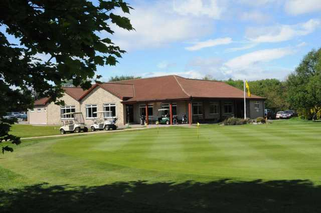 The clubhouse at Thornton Golf Club