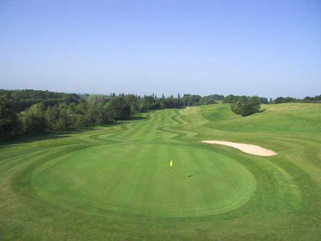 Amazing fairways at Hoebridge Golf Centre