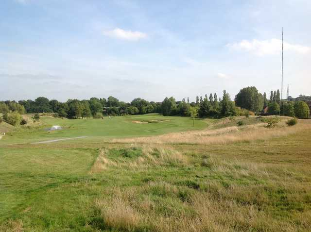 A view over Aston Wood Course