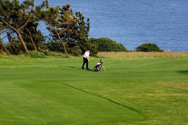 Approach at Walmer & Kingsdown Golf Club