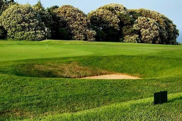 Bunker at Walmer & Kingsdown Golf Club