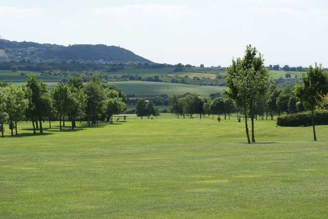 Sutton Hall's wide tree-lined fairways can be fairly forgiving of errant tee shots