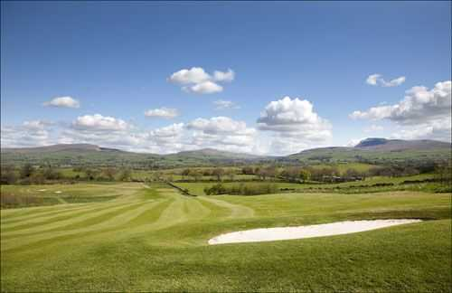 Breathtaking views over North Yorkshire from Bentham GC