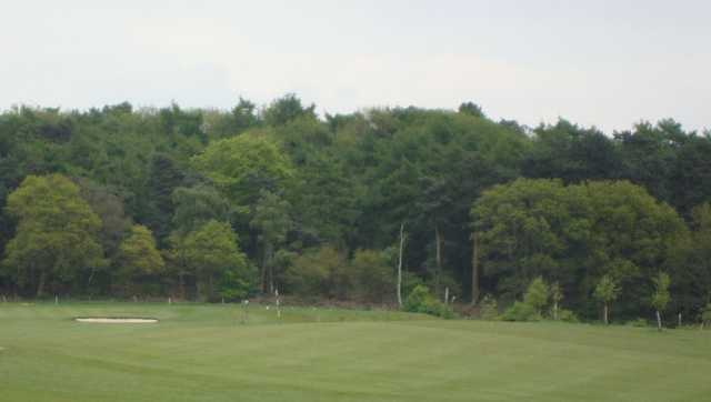 Greenside scenery at Halfpenny Green Golf Club