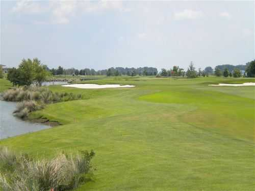 A green view from Tunica National Golf and Tennis