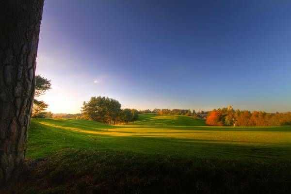 Stunning views from behind the 5th green at Westwood Golf Club
