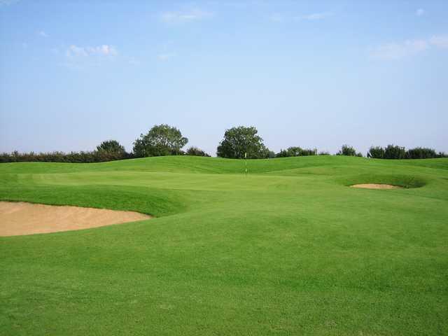 18th green at Burstwick Golf Club