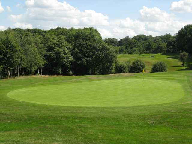Scenic view of the 12th green at Rotherham Golf Club