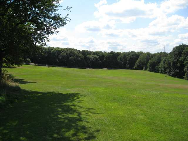 The scenic practice area at Rotherham Golf Club