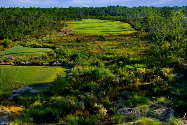 A view of the 11th hole at The Preserve Golf Club