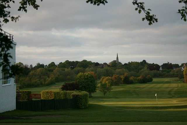 A view from Musselburgh Golf Club